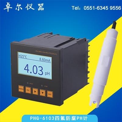 防腐PH计电极+PHG6103PH控制器